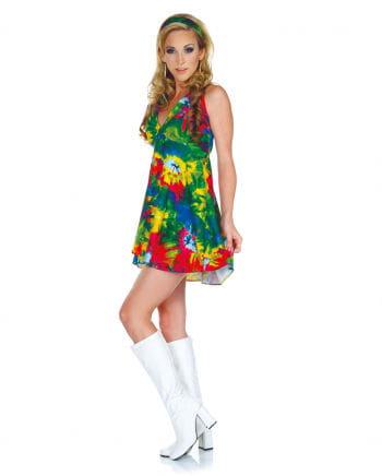 Batik Hippie Minikleid XL