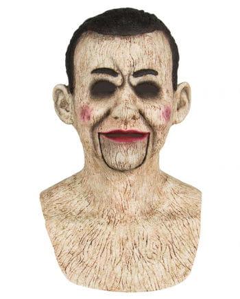 Bauchredner Puppe Maske aus Silikon