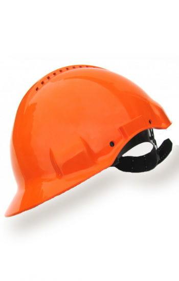 Bauarbeiterhelm orange