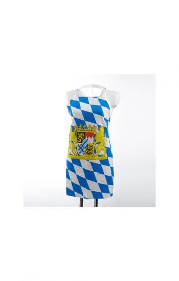 Bayrische Schürze mit Wappen