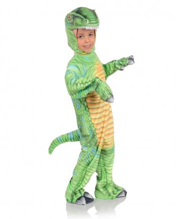 Grünes T-Rex Kleinkinderkostüm mit Print
