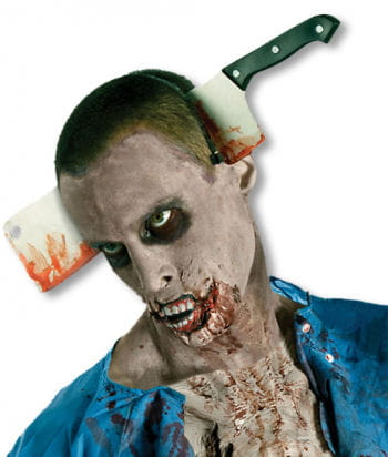 "Cleaver in the Head ""The Walking Dead"""