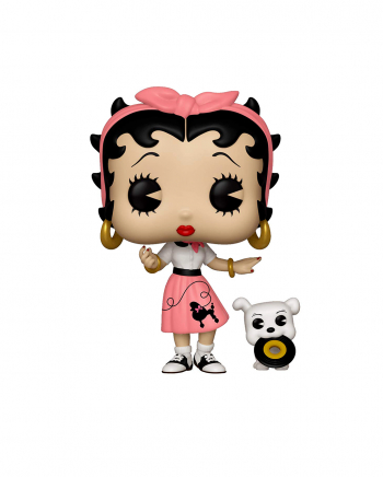 Betty Boop & Pudgy Sock Hop Funko POP! Figure