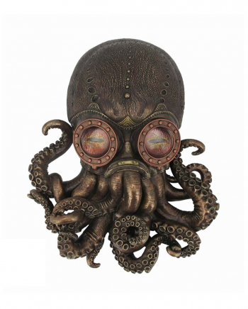 Bioctopus Steampunk Wanddeko