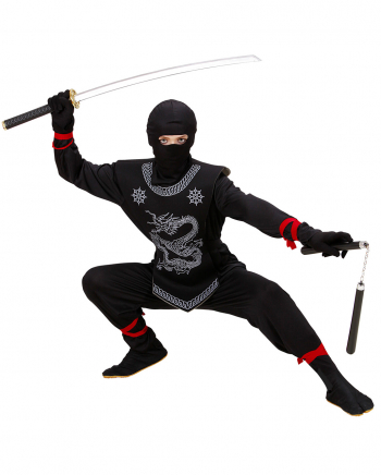 Black Dragon Ninja Child Costume