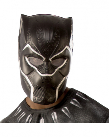 Black Panther Half Mask For Adults