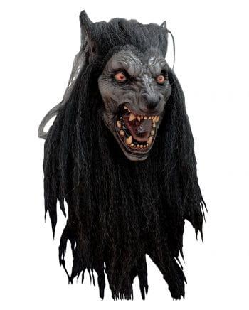 Werwolf Maske Black Moon