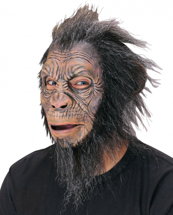 Blake Hairy Ape Monkey Mask With Synthetic Hair
