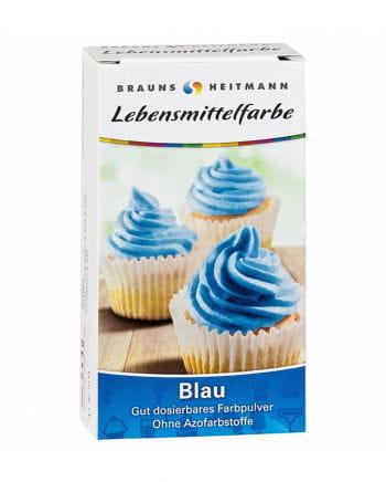 Food Color Blue