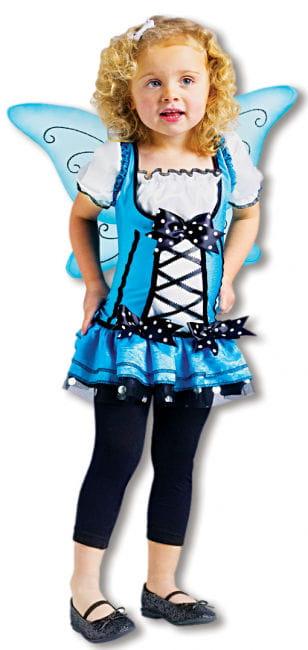 Blaue Fee Kleinkinderkostüm