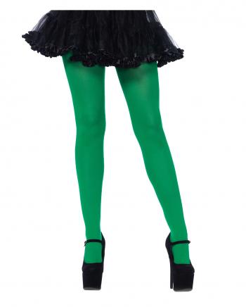 Opaque Nylon Pantyhose Green