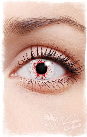 Blood Spatter Contact Lenses