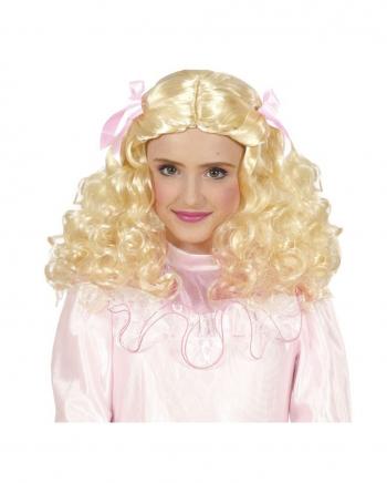 Blonde Princess Child Wig
