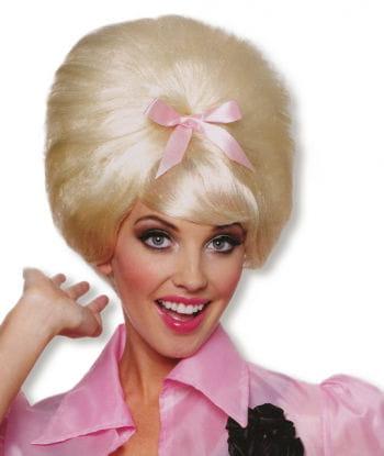 blonde 50er Jahre Perücke Beehive