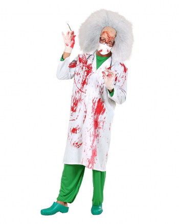 Bloody Doc Halloween Costume Smock