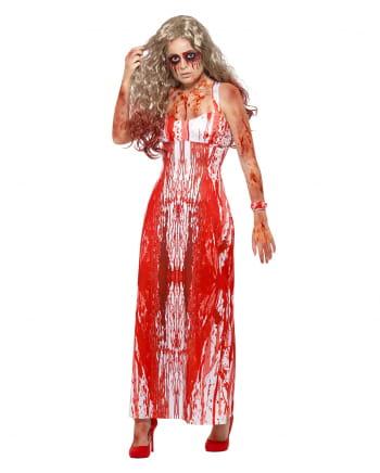 Blutiges Prom Queen Kostüm