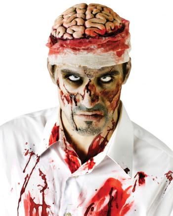 Blutiges Zombie Gehirn
