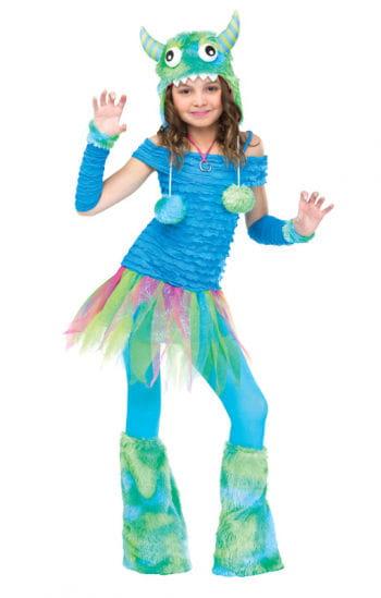 Blue Beastie Kids Costume