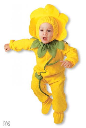 Gelbe Blume Kleinkinder-Kostüm