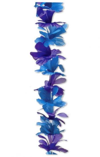 Blumen Halskette blau/lila