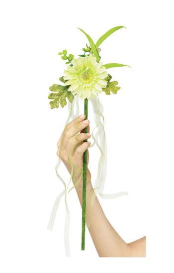 Blumenfee Zauberstab weiß