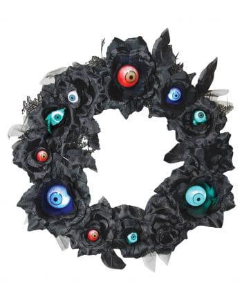 Blütenkranz mit LED Augen