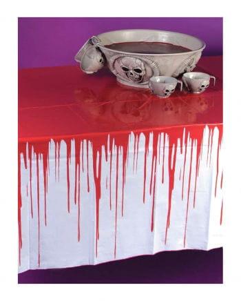 Blutige Halloween Tischdecke