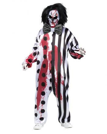 Bloody Clown Kostüm mit Maske