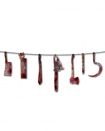 Bloody People Butcher Garland Garland
