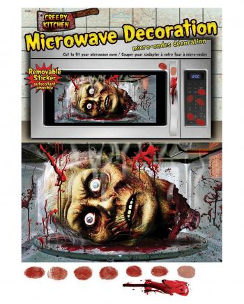 Halloween Mikrowellen Dekofolie