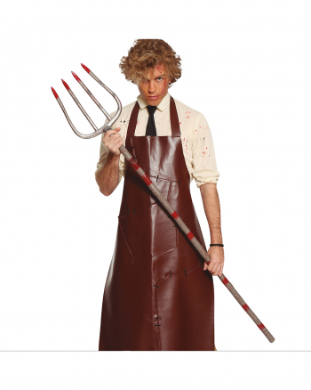 Bloody Pitchfork As Costume Accessory