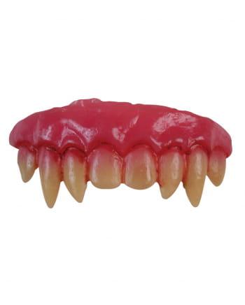 Blutige Vampirzähne zum Einsetzen