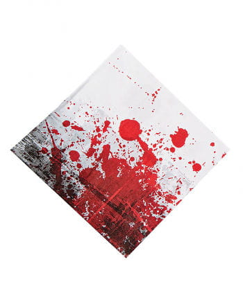 Blutige Servietten