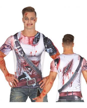 Cyborg T-Shirt für Herren