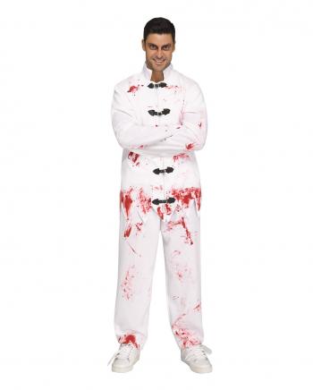 Blutiger Psychiatrie Insasse Kostüm One Size