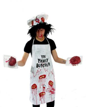 Blutiger Zombie Koch Kostüm 2tlg
