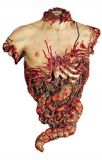 Blutiger Oberkörper Torso