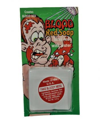Blutiger Seifen Puder