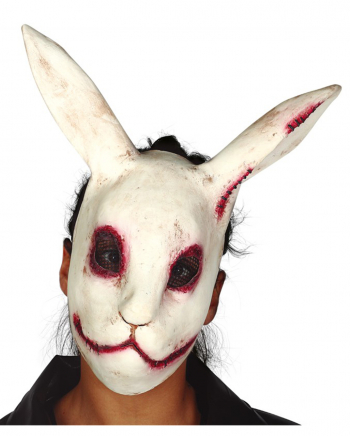 Bloody Horror Rabbit Latex Mask