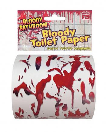 Blutiges Halloween Klopapier
