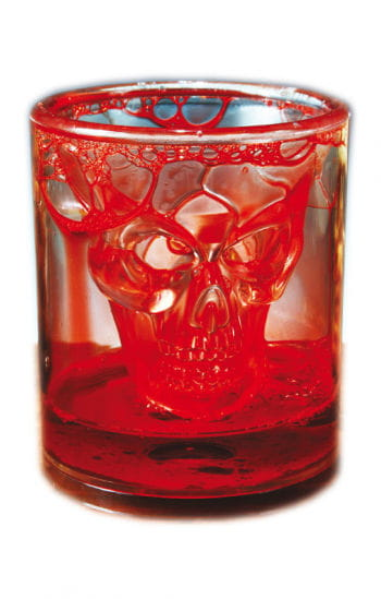Bloody Skull Glass