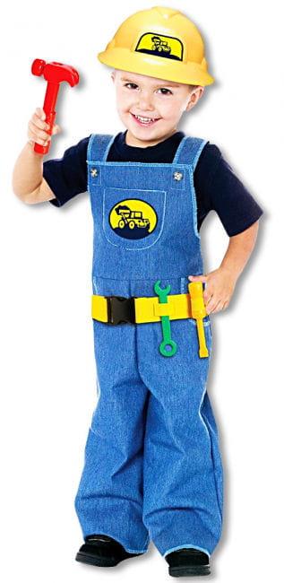 Bob der Bauarbeiter Kinderkostüm (4-6 Jahre)