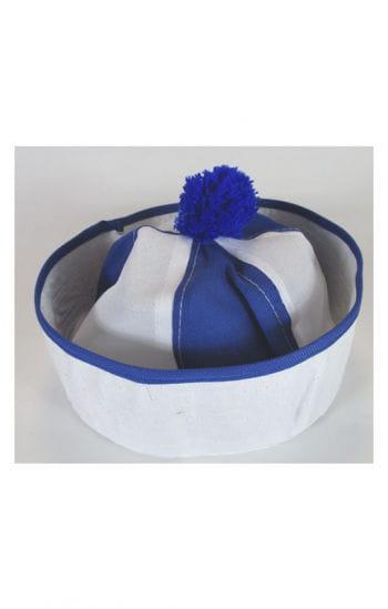 Bobby Sailor Hat White / Blue
