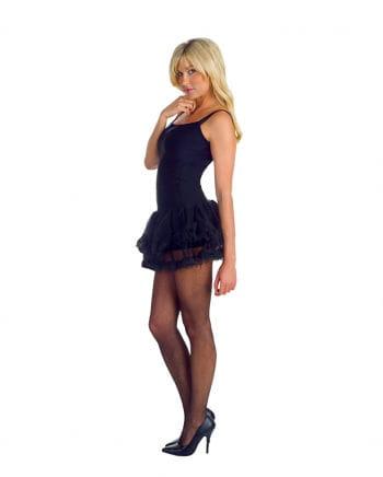 Schwarzes Petticoat Kleid