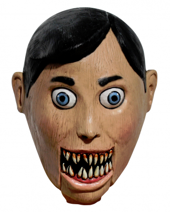 Evil Ventriloquist Doll Mask