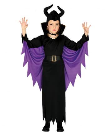 Evil Fairy Tale Costume For Children