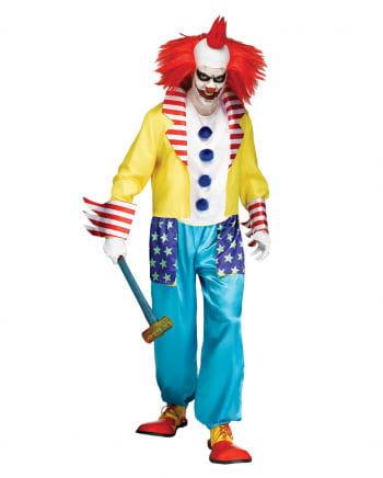 Böser Bunter Clown Halloween Kostüm