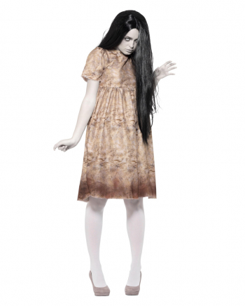 Bad Spirit Ladies Costume With Wig
