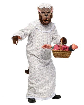 Bad Wolf In Granny Costume