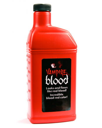 Bottle of Blood Fake Blood